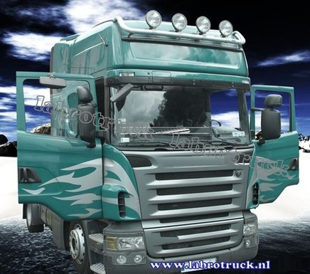 Rubber  Matten SCANIA