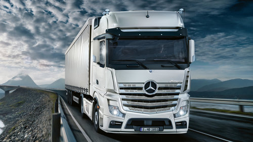 MERCEDES ACTROS MP IV