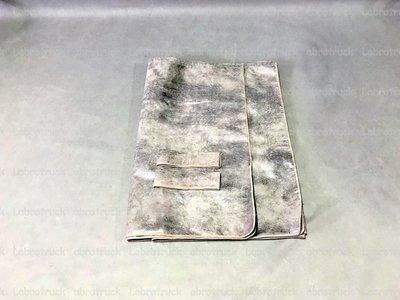 Op is Op Zijgordijnen ALCANTARA Prit Paper Dust 98 cm